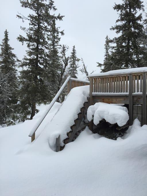 Much snow:)