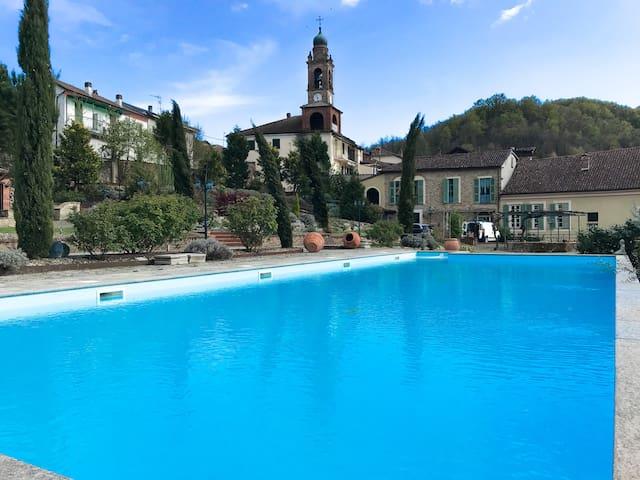 La Romantica Villa del Vescovo in Monferrato