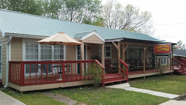 The Pickin' Park Cottage - Mountain View, AR