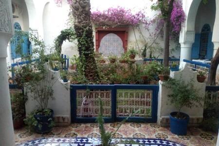 Typique demeure marocaine proche de Fez