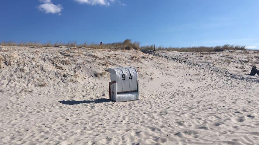 In nur sehr wenigen Schritten an die Ostsee...
