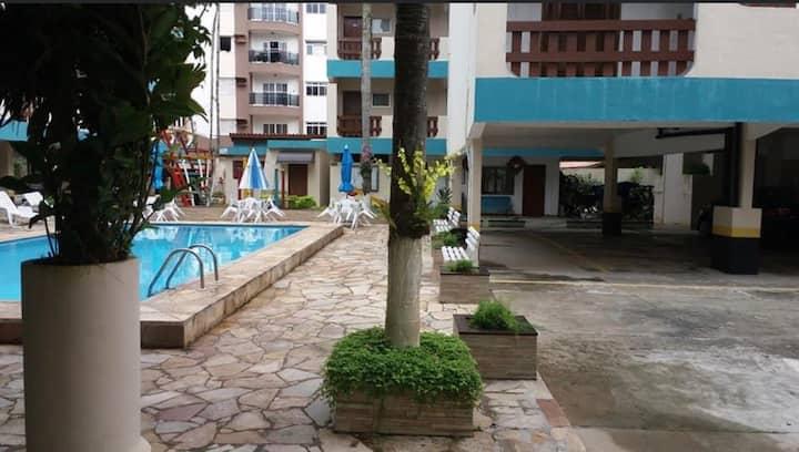 Apartamento inteiro Cond. Garden Mar -Familiar