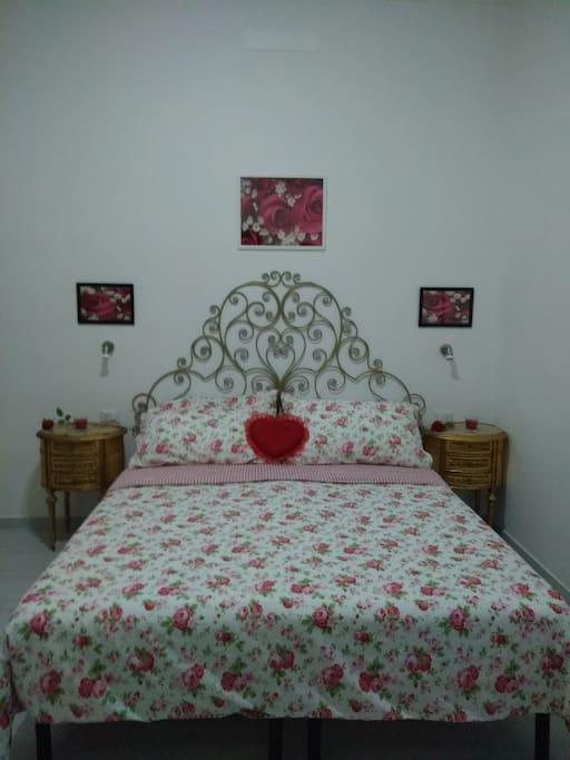 camera da letto matrimoniale room rose
