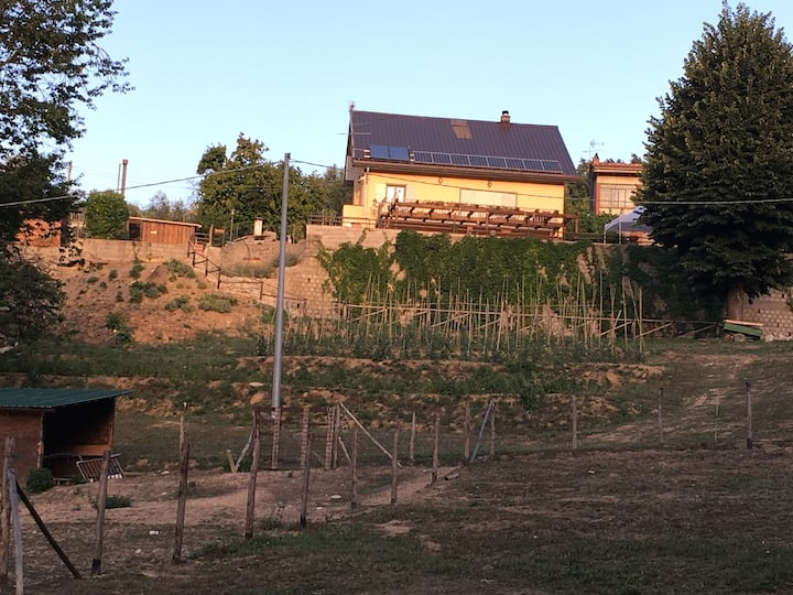 Casa nel verde delle colline di Pistoia