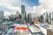 Bright High Rise Condo with Stunning Views