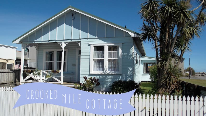 CROOKED MILE COTTAGE - BY THE SEA history + charm