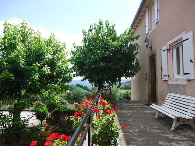 Gd gîte calme 12 pers.  Aveyron. Semaine moins 60% - Broquiès - Ev