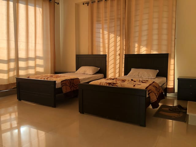 3 Bed Shared Room