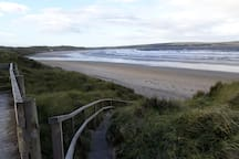 Dunnet beach and forest are a short drive away.