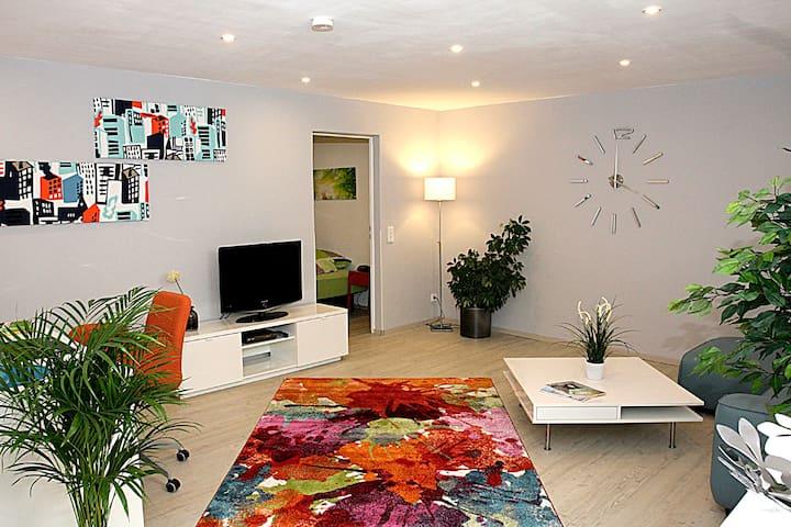 Modern ausgestattetes, ruhig gelegenes Apartment - Ransbach-Baumbach - Apartamento