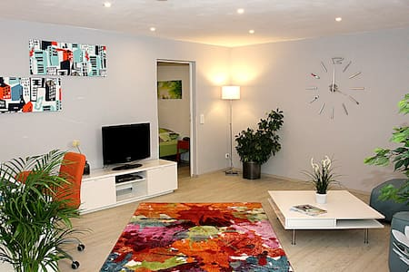 Modern ausgestattetes, ruhig gelegenes Apartment - Ransbach-Baumbach - Lejlighed