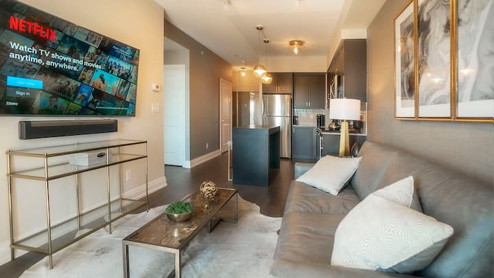Luxury 1BR Cineplex, Vaughan Metropolitan Centre