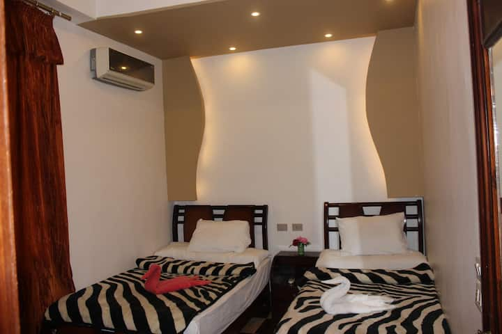 Family Palace -2 Beds private Room-Downtown,Cairo