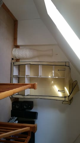 Lovely attic room with double bed