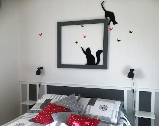 artbedandbreakfast - CATS Room - Monterotondo - Szoba reggelivel