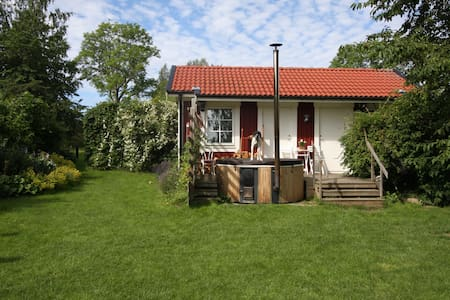 Countryside house near City. Hot tub & Sauna.