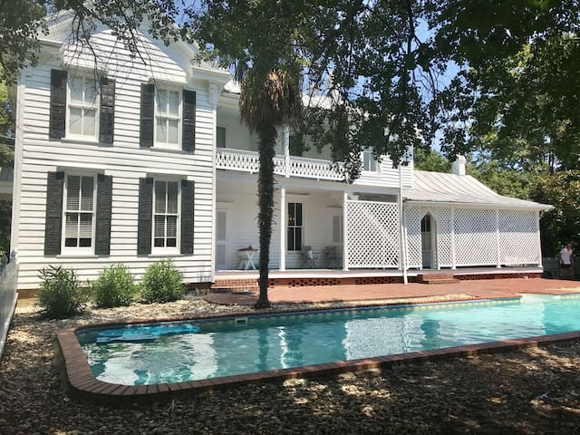 Waterhouse ~ charming, historic home with pool