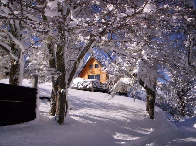 El Refugio Miralejos, cabaña en la montaña