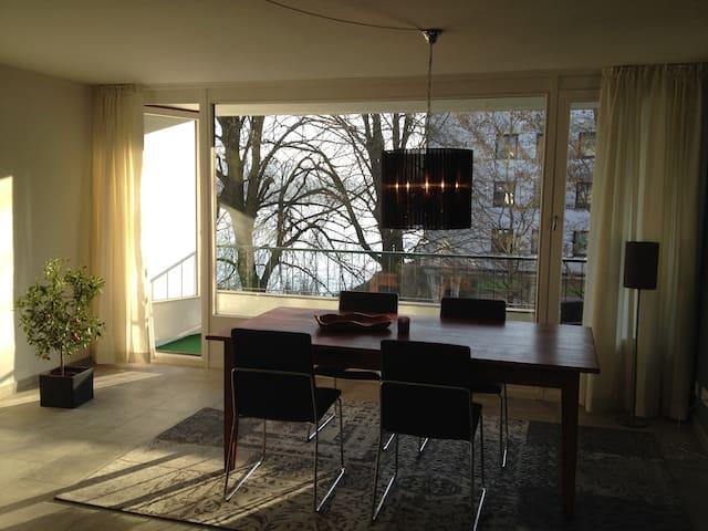 Moderne Ferienwohnung mit Rheinblick und Balkon - Remagen