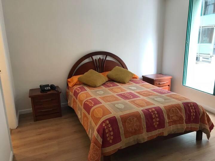 Suite centro norte de Quito junto parque Carolina