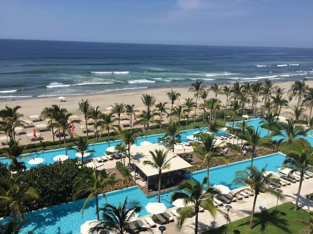 Departamento con vista al mar Peninsula Diamante - Acapulco - Appartement