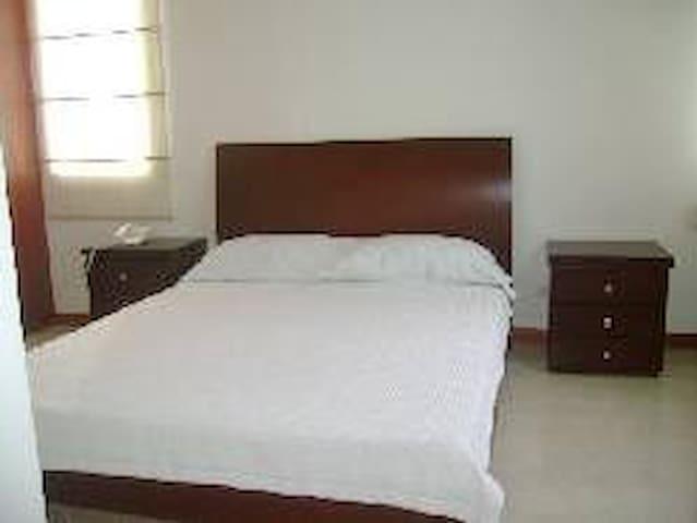 Apartamento con dos habitaciones amplias amoblado - Pereira - Daire