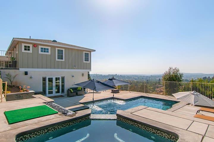 Pool, Hot Tub & Views! 2 Homes on  1 property!