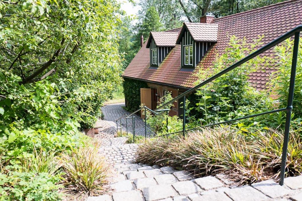 Nord Ansicht Cottage