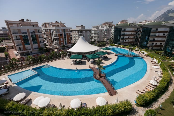 KONYAALTI BEACH 3+1 LUXURY APARTMENT - Konyaaltı
