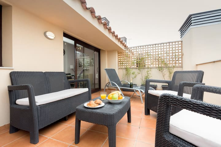 Penthouse   20 km from Barcelona