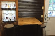 Dining area in kitchenette