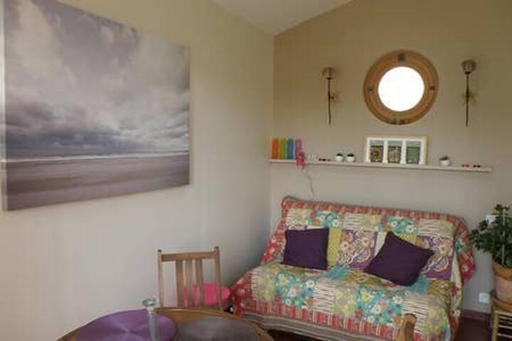 Appartement indépendant, Piscine, jardin tropical