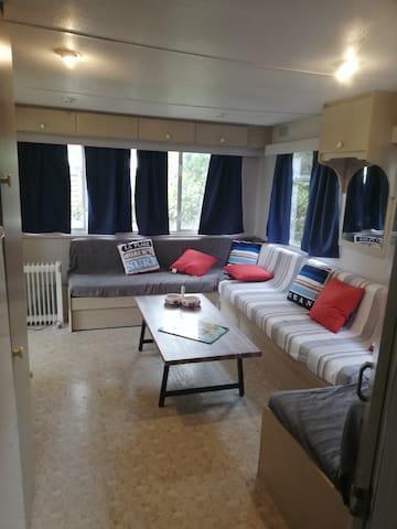 Mobile Home La Couarde Sur Mer I Terrain Privé