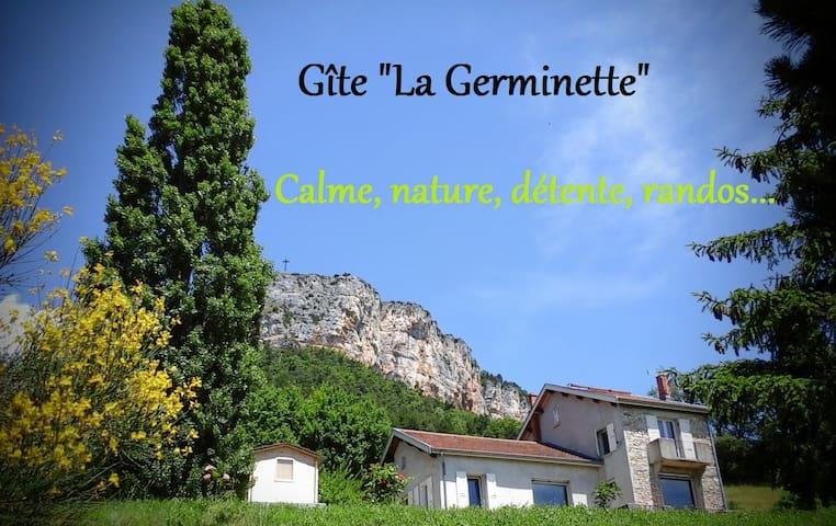 """Gîte """"La Germinette"""" calme, nature - Plan-de-Baix - House"""