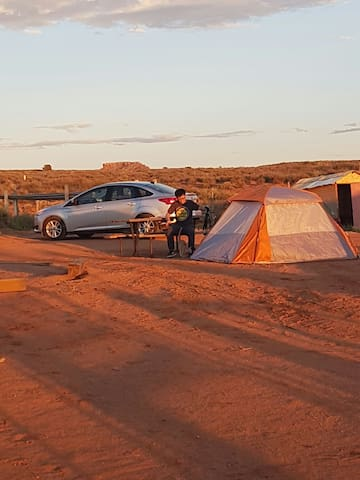 camping and RV parking - Oljato-Monument Valley - Karavan