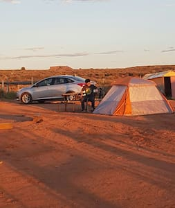 camping and RV parking - Oljato-Monument Valley - Autocaravana