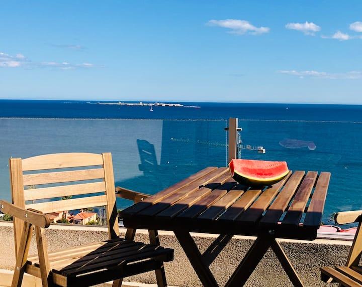 Romántico apartamento con increíbles vistas+WIFI
