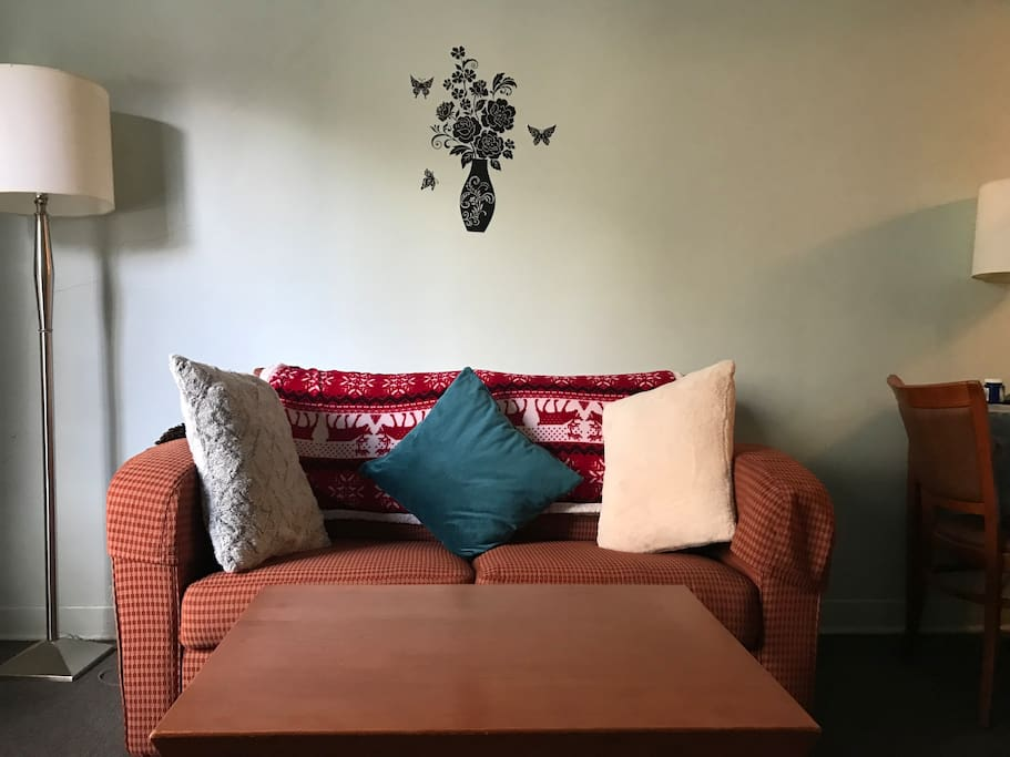 Cozy couch / sofa - bed