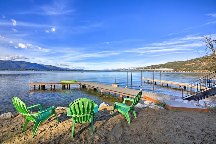 Bright Sagle Home On Lake Pend Oreille - Sleeps 7!