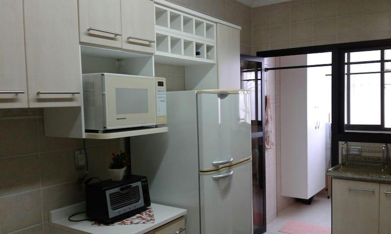 Apartamento próximo ao comercio em rua sossegada - Serra Negra - Apartamento