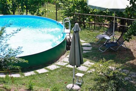 Tuscan country apartament  in a lovely olive grove - Uzzano - Huoneisto