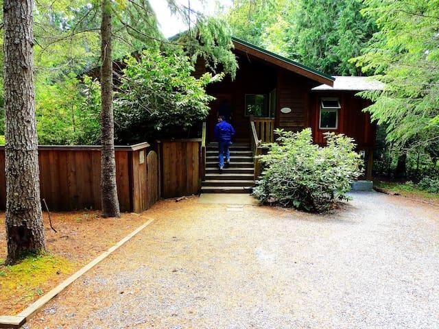 West Coast Cedar Home - Island Getaway