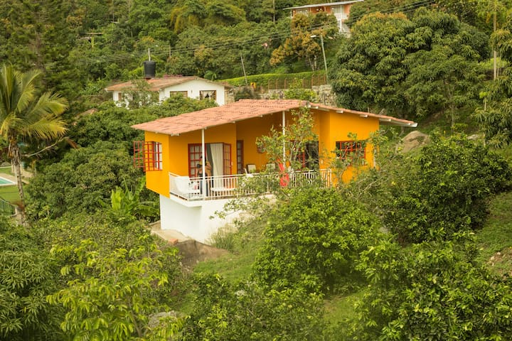 House with great view and pool in tropical garden - Mesitas del Colegio - House