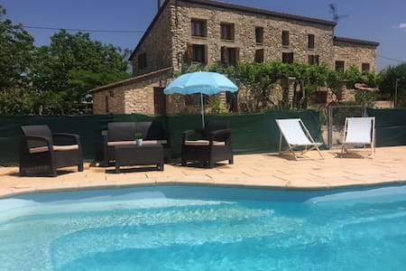 Country house with swimming pool - Aldover