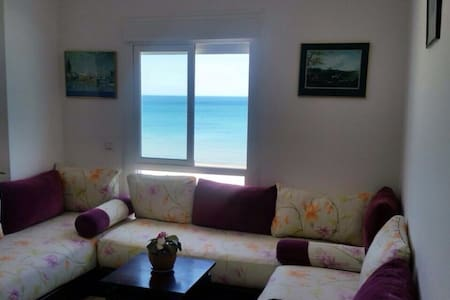 Appartement 100%  sur mer. - Tangier - Apartment