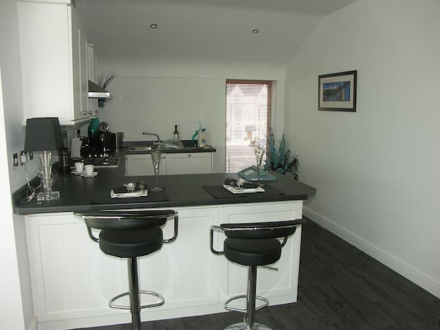 Harbourside townhouse close to town - Gwynedd - House