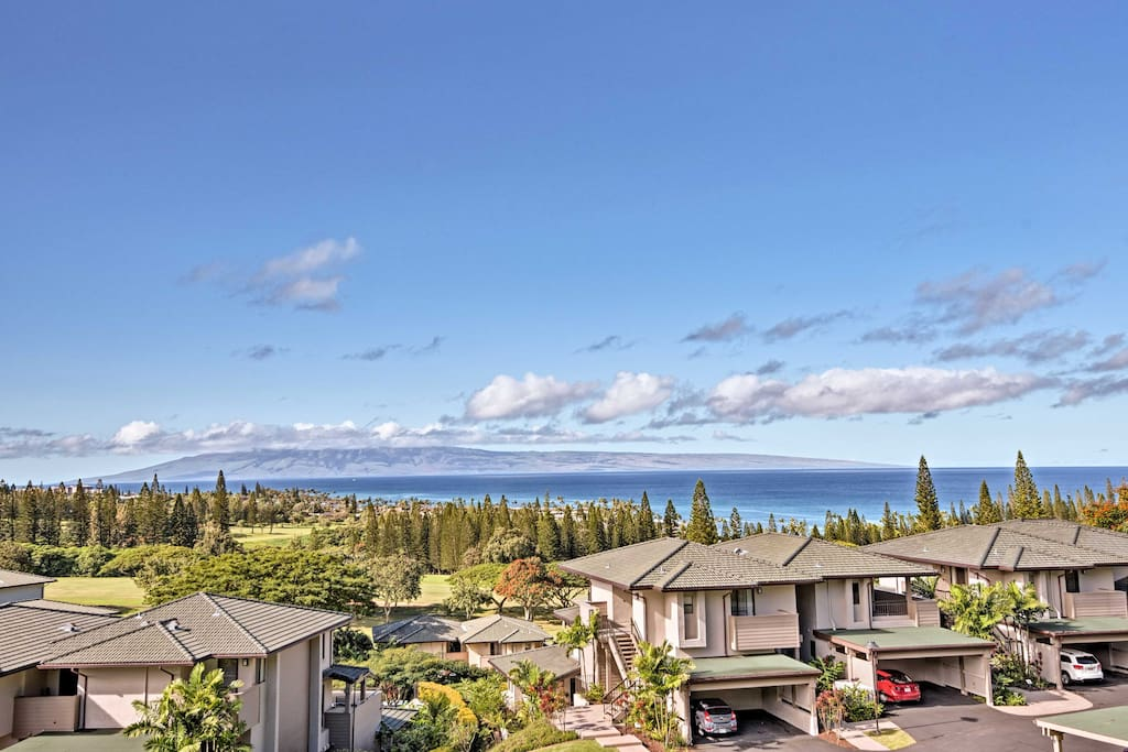 You'll have stunning views from the private balcony and access to a community pool.
