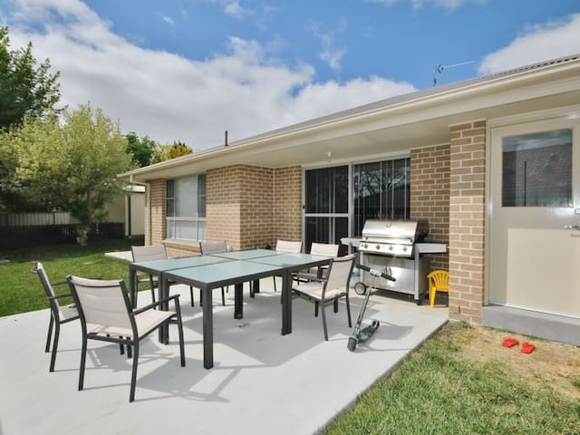 Secure, comfortable family home