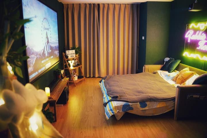 【南京兔子洞-爱丽丝之梦】激光IMAX投影 新港 火车站 迈皋桥 燕子矶1BR1B  动物园 二桥