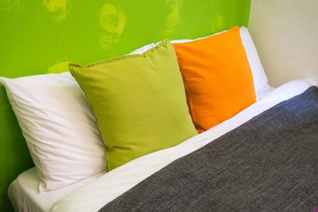 溫馨綠房-舒適床組